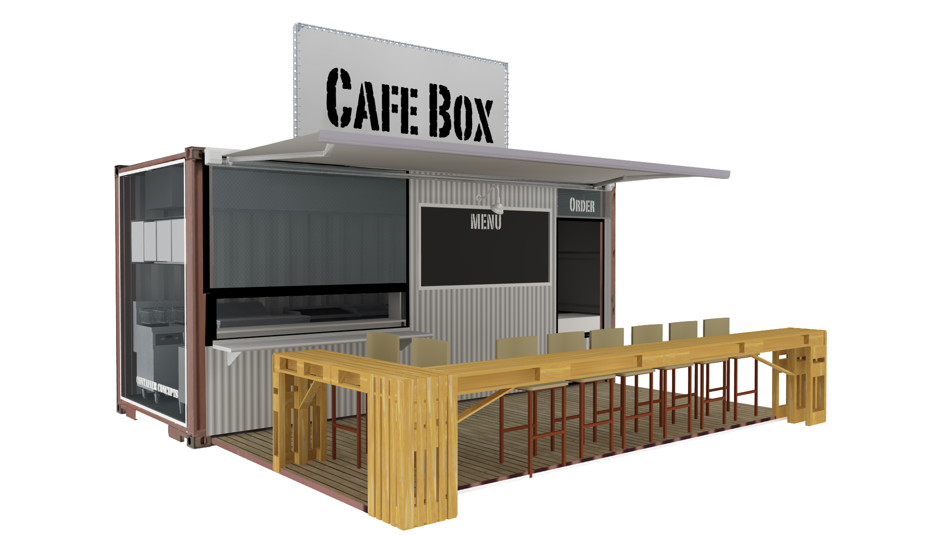 Shipping Container Floor Plan Designs Container Concepts Quot Concepts In A Box Quot Commercial