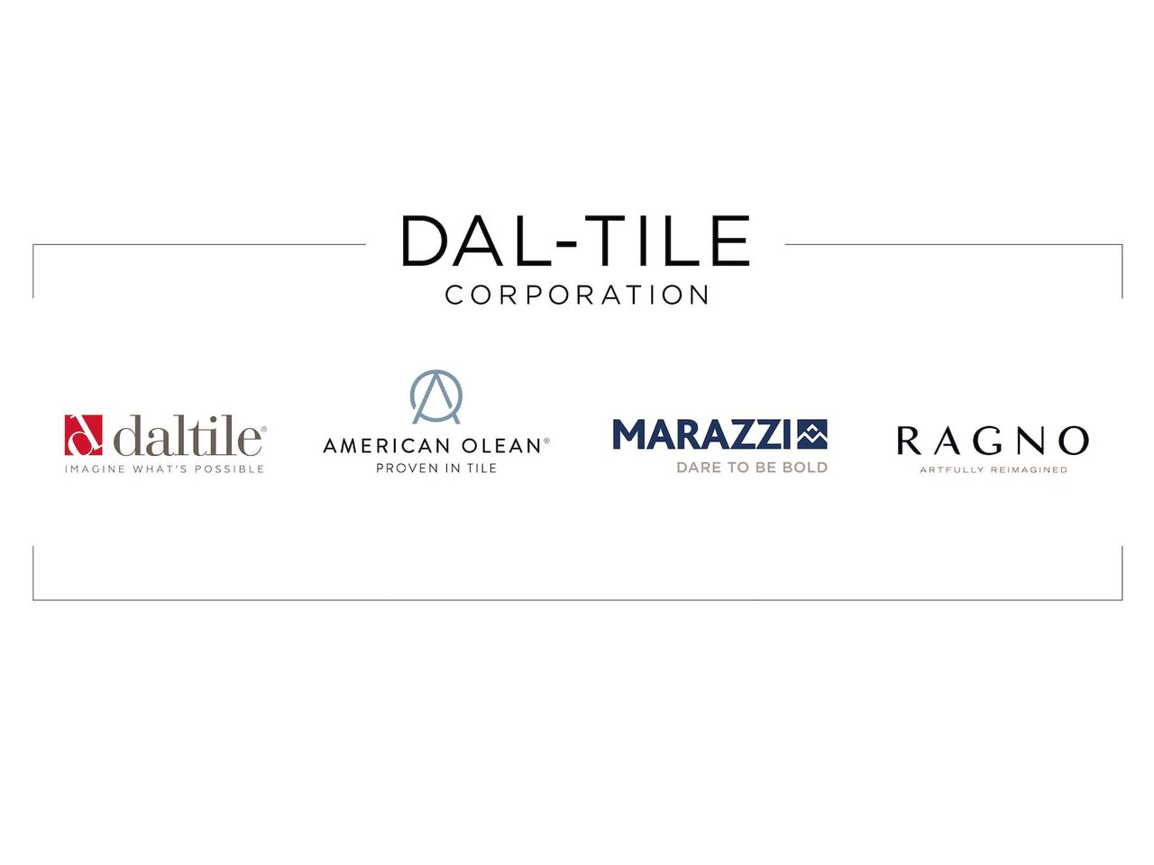Dal Tile Corporation Today Announced The Re Launch Of Its Family Brands Four Influential That Have Been Known And Respected For Years