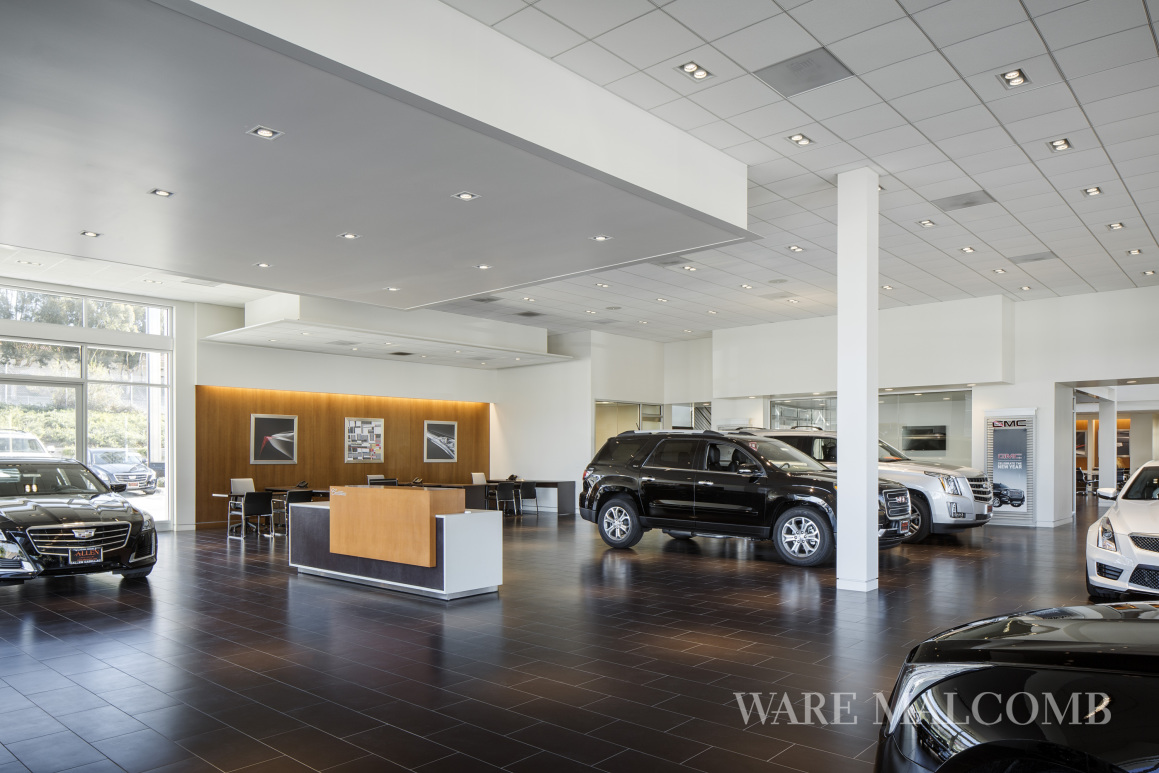 Ware Malcomb Completes Auto Dealerships Commercial Construction
