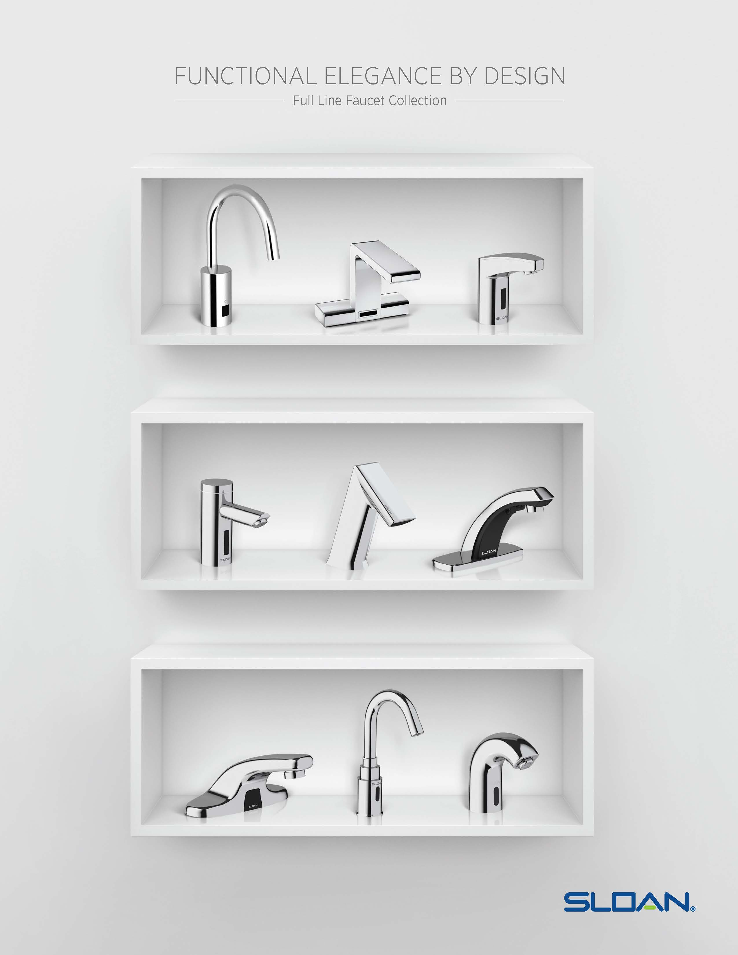 plumbing leading s by choices faucets applications of selecting process commercial simplified simplifies faucet for restrooms systems has selection world the manufacturer sloan