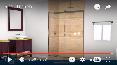 Tile Redi®, Leading Manufacturer And Marketer Of Leak Proof, Tile Able  One Piece Shower Pans And Related Products, Has Produced A Four Minute  Video Which ...