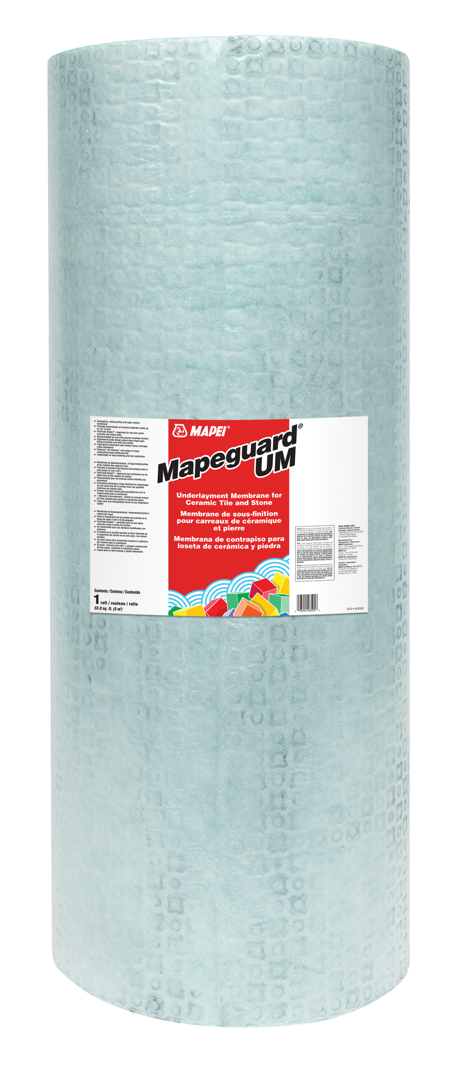 Mapei Waterproofing Membrane : Mapei s new underlayment membrane commercial