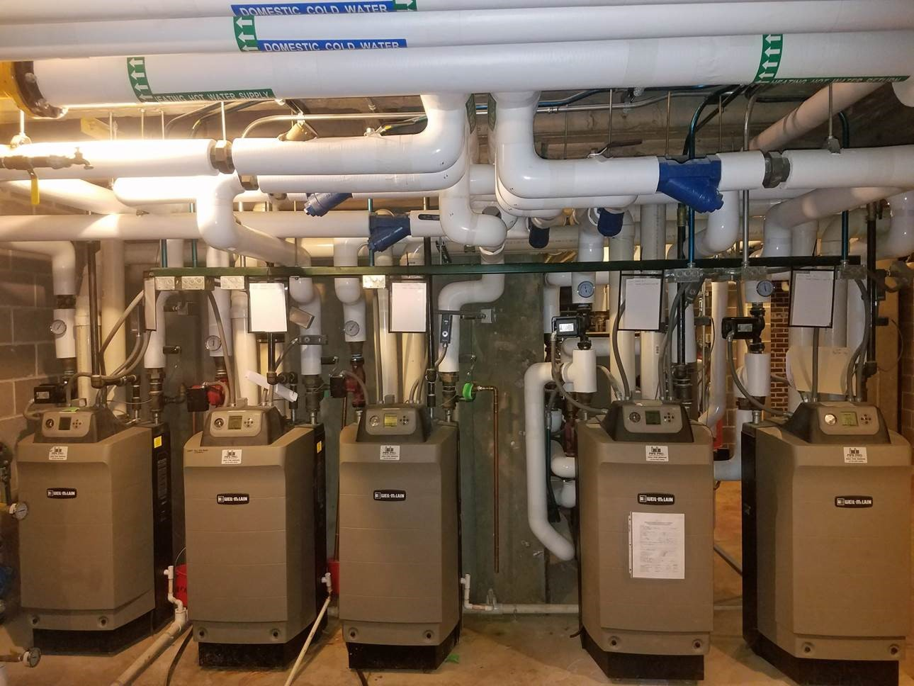 High Efficiency Boilers at Iowa College Campus | Commercial ...