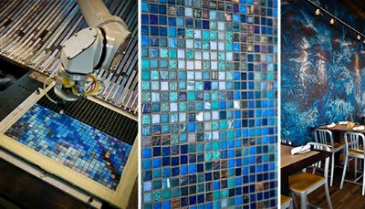 Artaic Innovative Mosaic Designers And Fabricators Of Custom Award Winning Tile Work Has Upgraded Its Already State The Art Headquarters To