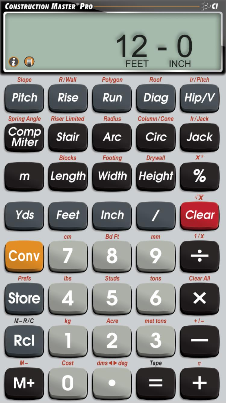 Calculated Industries New Feature on Calculator Apps