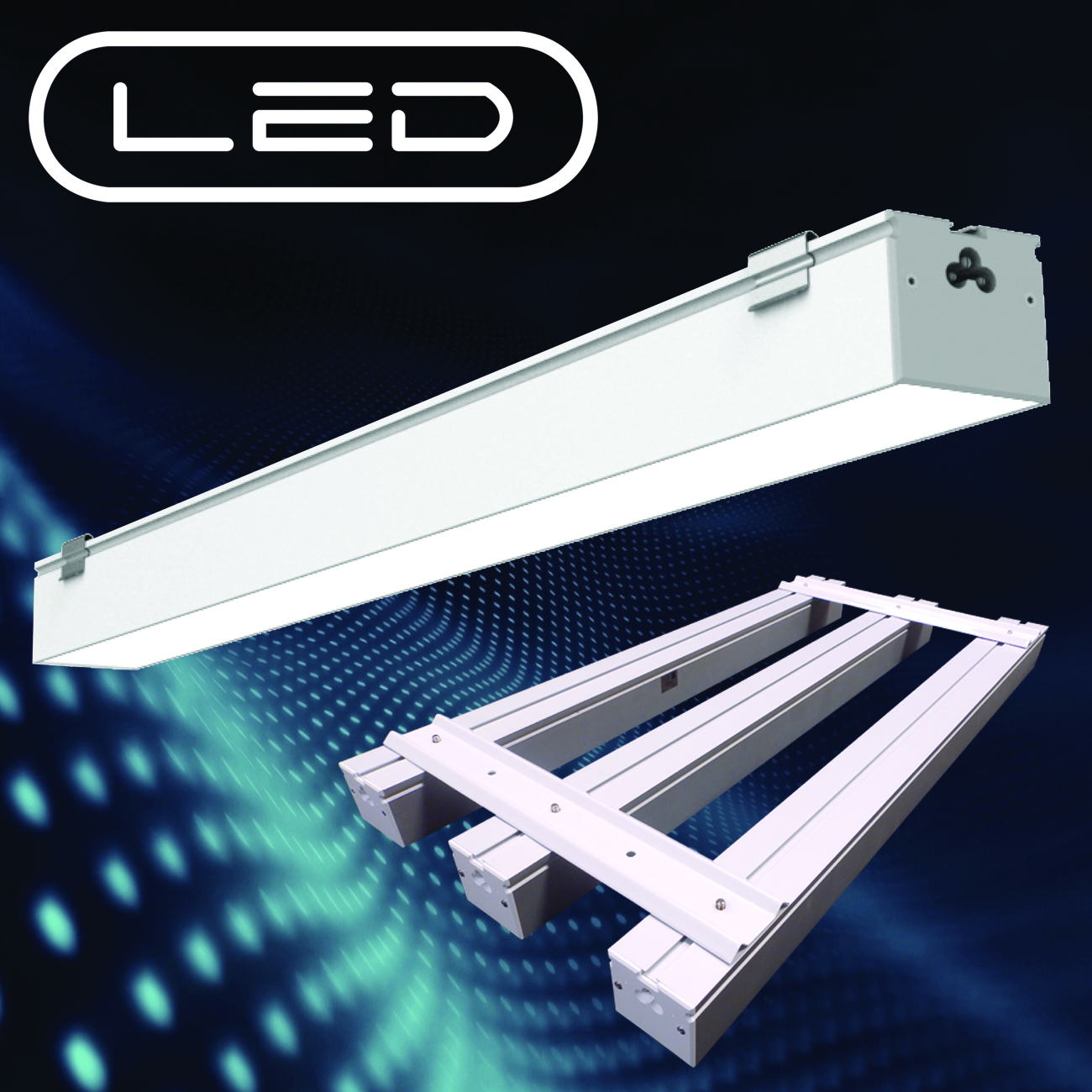 Lamar Configurable Narrow Linear Led Luminaire Commercial Construction And Renovation